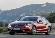 Mercedes-Benz CLS 220 d 9G-TRONIC (2016-2016) Front + links