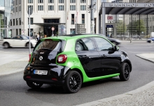 Smart smart forfour electric drive (seit 2017) Heck + rechts