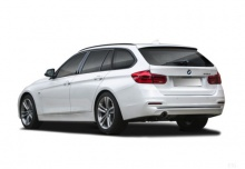BMW 320i Touring xDrive (seit 2015) Heck + links