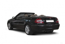 Mercedes-Benz CLK Cabrio 500 7G-TRONIC (2006-2009) Heck + links