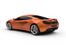 McLaren 12C Coupe (2013-2013) Heck + links