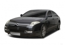 Citroen C6 HDi 240 Biturbo FAP (2009-2012) Front + links