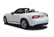 Fiat 124 Spider 1.4 MultiAir Turbo (seit 2016) Heck + links