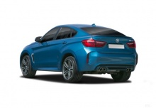 BMW X6M (2014-2014) Heck + links