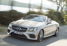 Mercedes-Benz E 350 d 4Matic Cabrio 9G-TRONIC (seit 2017) Front + links