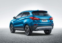 BAIC Senova X55 (2017-2017) Heck + links
