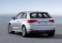 Audi A3 2.0 TDI clean diesel quattro (seit 2013) Heck + rechts