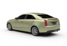 Cadillac ATS 2.0T RWD AT8 (seit 2015) Heck + links