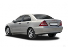 Mercedes-Benz C 270 CDI (2004-2005) Heck + links