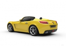 Opel GT (2006-2009) Heck + links