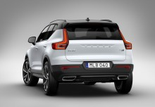Volvo XC40 T5 AWD Geartronic (seit 2017) Heck + links