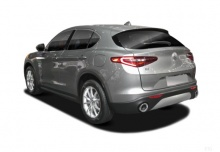 Alfa Romeo Stelvio 2.0 Turbo 16V AT8-Q4 (seit 2017) Heck + links