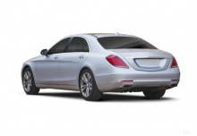 Mercedes-Benz S 600 L 7G-TRONIC (2014-2017) Heck + links