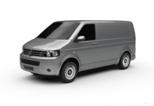 VW T5 Doka Kurz (2014-2015) Front + links