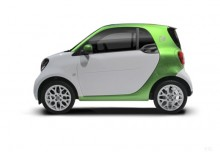 Smart smart fortwo coupe electric drive (seit 2017) Seite links