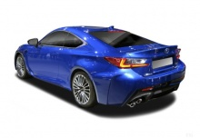 Lexus RC 200t (seit 2016) Heck + links