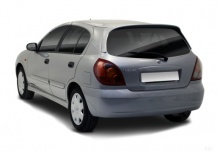 Nissan Almera 1.5 dCi (2003-2005) Heck + links