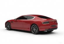 Aston Martin Rapide S (2013-2013) Heck + links