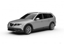 Saab 9-3 X 2.0T Bio Power XWD (2009-2011) Front + links