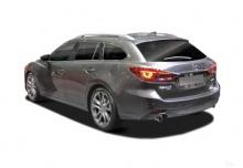 Mazda 6 Kombi SKYACTIV-G 165 Aut. (2016-2016) Heck + links