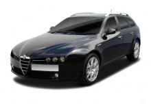 Alfa Romeo Alfa 159 Sportwagon 2.0 JTDM 16V DPF (2010-2011) Front + links
