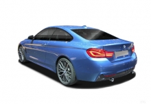 BMW 440i Coupe (seit 2017) Heck + links