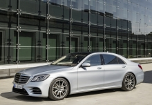 Mercedes-Benz S 560 4Matic 9G-TRONIC (seit 2017) Front + links