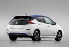Nissan Leaf 40 kWh (seit 2017) Heck + rechts