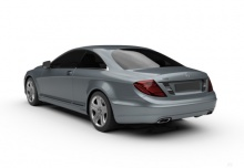 Mercedes-Benz CL 63 AMG 7G-TRONIC (2010-2014) Heck + links