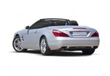 Mercedes-Benz SL 350 7G-TRONIC (2011-2014) Heck + links