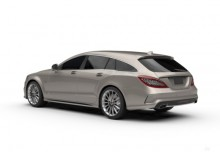 Mercedes-Benz CLS Shooting Brake 400 4Matic 7G-TRONIC (2016-2016) Heck + links