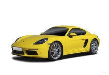 Porsche 718 Cayman (2016-2016) Front + links