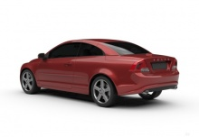Volvo C70 D3 Aut. (2010-2013) Heck + links