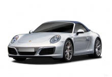Porsche 911 Carrera GTS Cabriolet (seit 2017) Front + links