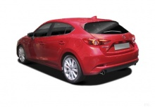 Mazda 3 SKYACTIV-G 100 (2016-2016) Heck + links
