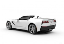 Chevrolet Corvette Stingray 2LT 6.2 V8 Cabrio Automatik (seit 2015) Heck + links