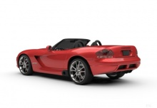 Dodge Viper SRT-10 (2003-2009) Heck + links