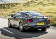 Bentley Continental Supersports (2017-2017) Heck + links
