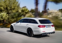 Mercedes-Benz AMG E 63 4Matic+ T 9G-TRONIC (2017-2017) Heck + links