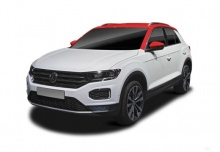 VW T-Roc 1.0 TSI (seit 2017) Front + links