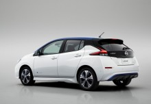 Nissan Leaf 40 kWh (seit 2017) Heck + links