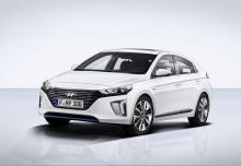 Hyundai IONIQ Hybrid 1.6 GDI (seit 2016) Front + links