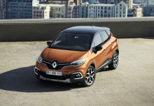 Renault Captur ENERGY TCe 90 (seit 2017) Heck + links