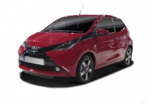 Toyota Aygo (seit 2014) Front + links