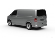 VW T5 DSG Doka Kurz 4MOTION (2014-2015) Heck + links