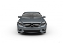 Mercedes-Benz CL 63 AMG 7G-TRONIC (2010-2014) Front