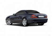 Mercedes-Benz SL 600 Automatik (2008-2011) Heck + links