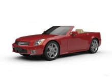 Cadillac XLR-V (2008-2010) Front + links