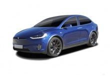 Tesla Tesla Model X 100D Allradantrieb (2017-2017) Front + links