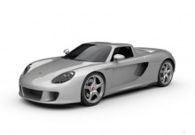 Porsche Carrera GT (2003-2007) Front + links